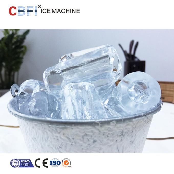 Edible Level 5 Ton Ice Tube Machine With Germany Bitzer Compressor