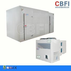 Trung Quốc 50HP Screw Type Doube-Stage Commercial Blast Freezer Air Water Cooling nhà máy sản xuất
