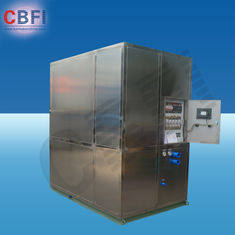 Trung Quốc Cold Drink Shops Plate Ice Machine With PLC Central Program Control  nhà máy sản xuất