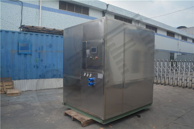 Freezing Seafood Meat Plate Ice Machine / Commercial Ice Makers High Output