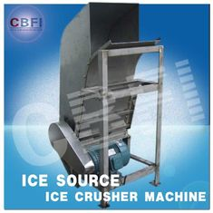 Trung Quốc Water Proof Crushed Ice Maker Machine / Industrial Ice Crusher Machine Energy Saving  nhà máy sản xuất