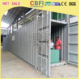 Trung Quốc 5 Ton Per Day Containerized Block Ice Machine, Ice Block Making Business  nhà máy sản xuất
