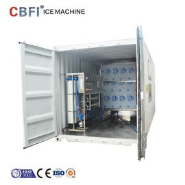 Containerized Commercial Ice Cube Maker R507 Refrigerant 29*29*22mm