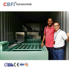 Trung Quốc Commercial Containerized Block Ice Machine Big Containerized Block Ice Plant nhà máy sản xuất