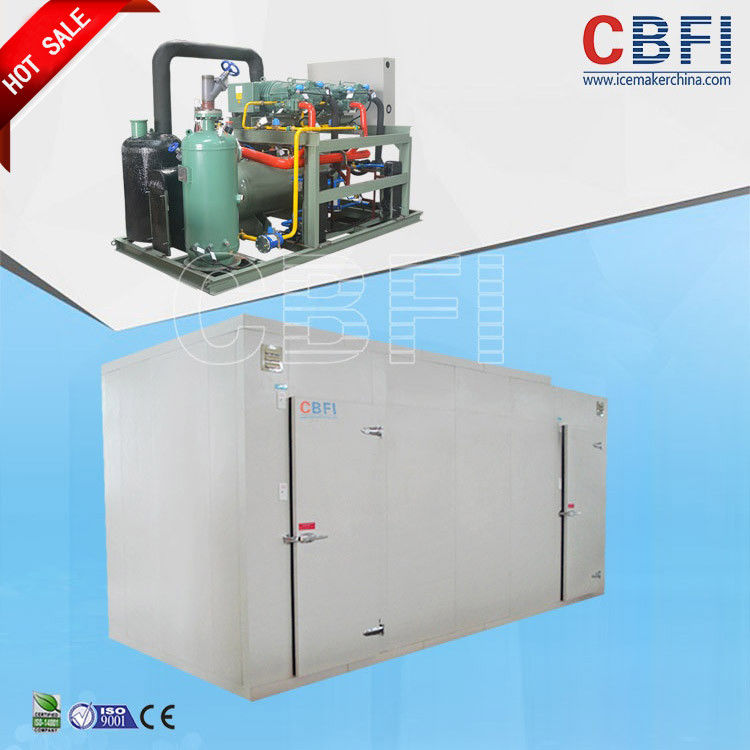 Seafood Fast Freezing Commercial Blast Freezer 150mm Thickness