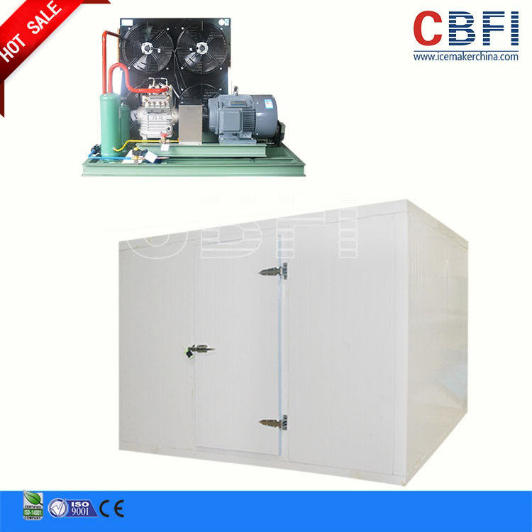 Adjustable Temperature Commercial Blast Freezer , Blast Chiller Freezer For Grain / Corp Storage