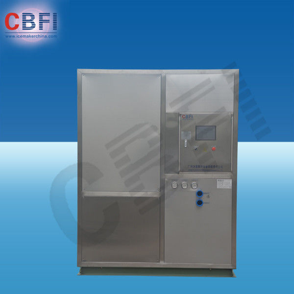 1 - 25Tons / 24h Fresh Water Plate Ice Machine with Water Air Evaporative Cooling nhà cung cấp