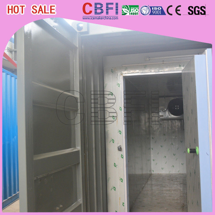 Prefabricated Insulated Cold Storage Containers / 40 Feet Cold Room Containers