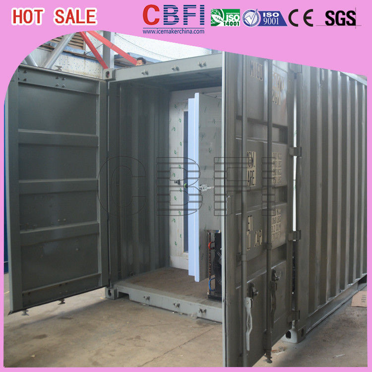 Movable / Strong Cold Storage Containers Outside Cold Room Without Shed