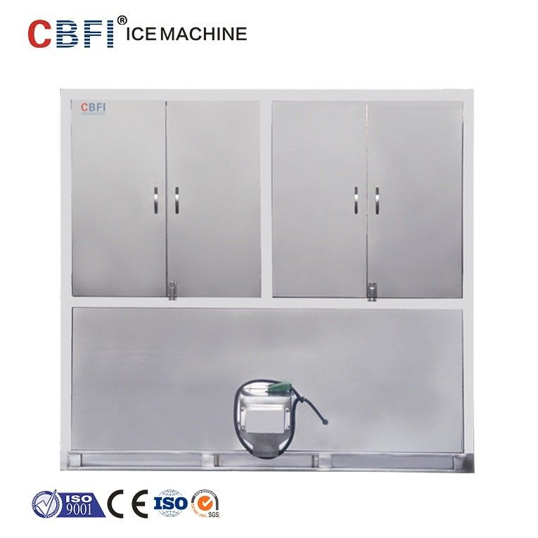 Air Cooling Ice Cube Maker Machine With Germany Bitzer Compressor nhà cung cấp