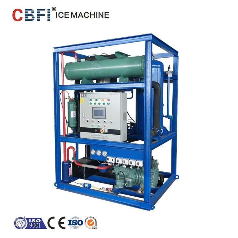 Edible Level 5 Ton Ice Tube Machine With Germany Bitzer Compressor nhà cung cấp