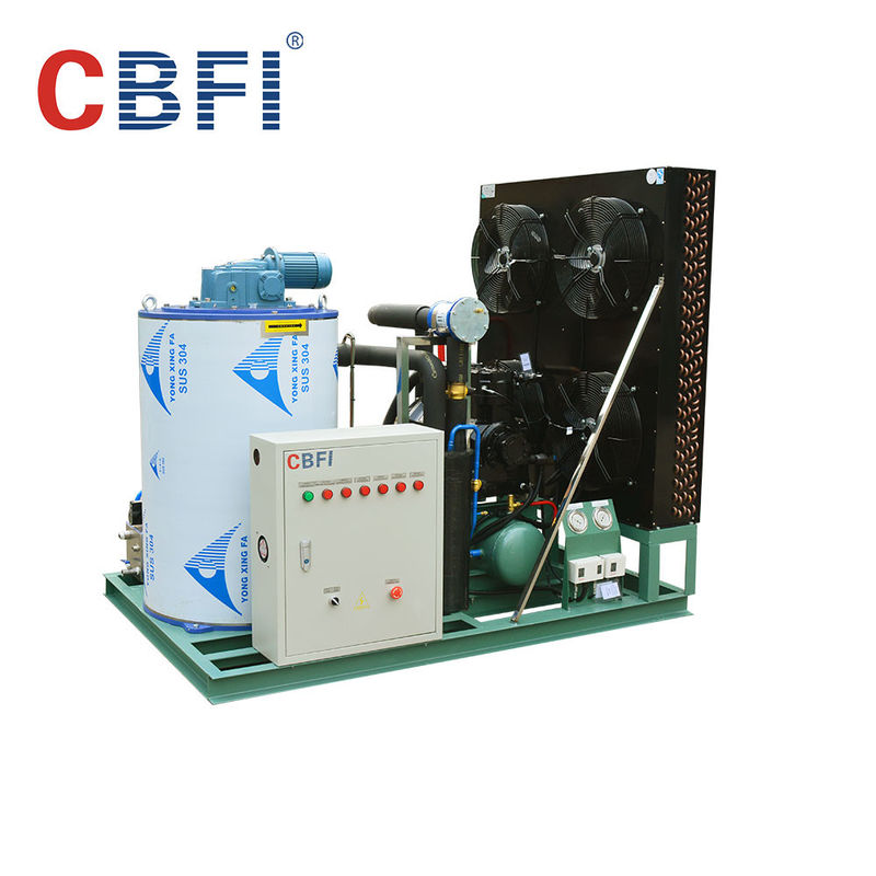 316 Stainless Steel 3 Ton Saltwater Flake Ice Machine Low Power Consumption nhà cung cấp