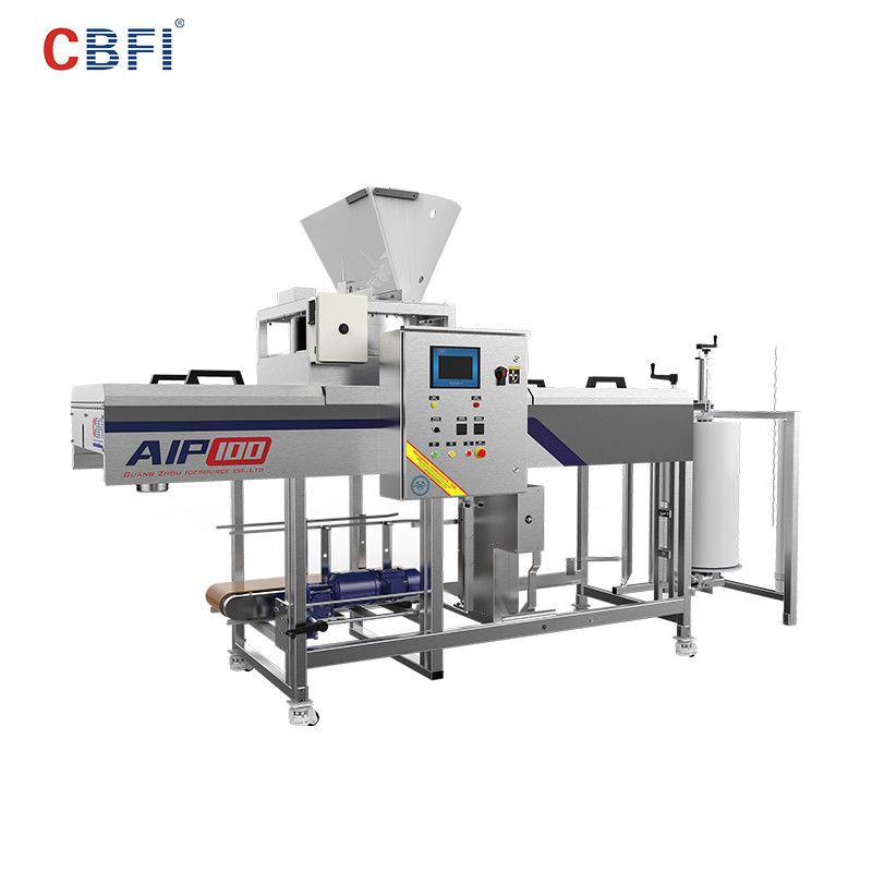CBFI Easy Operation Edible Ice Packing System Save Labor Cost And Production Cost nhà cung cấp